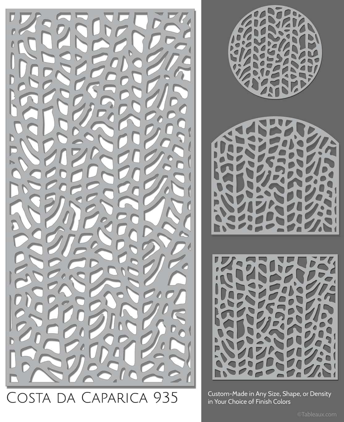 """Tableaux Decorative Grilles Design Pattern """"Costa Da Caparica"""""""