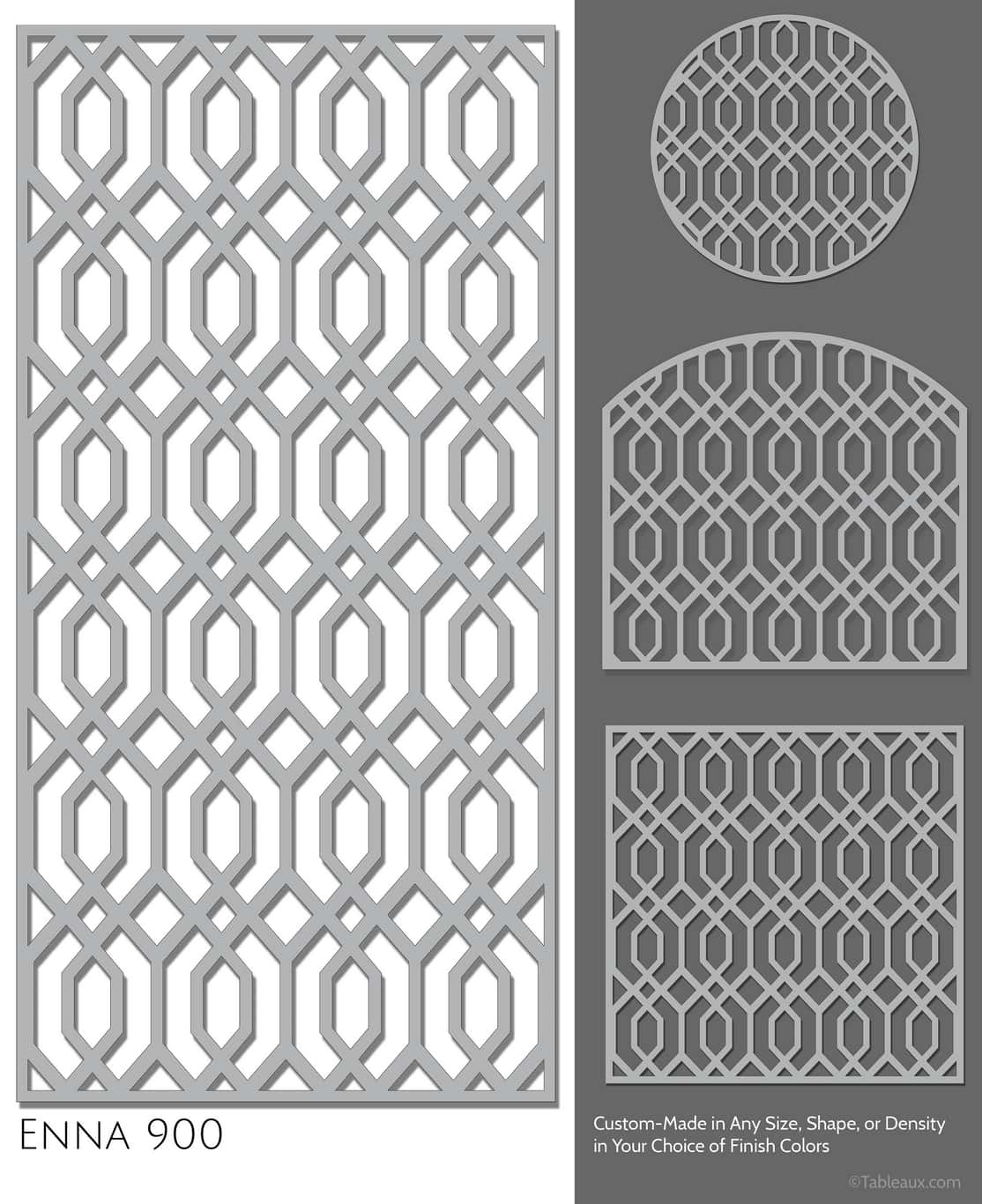 "Tableaux Decorative Grilles Design Pattern ""Enna"""