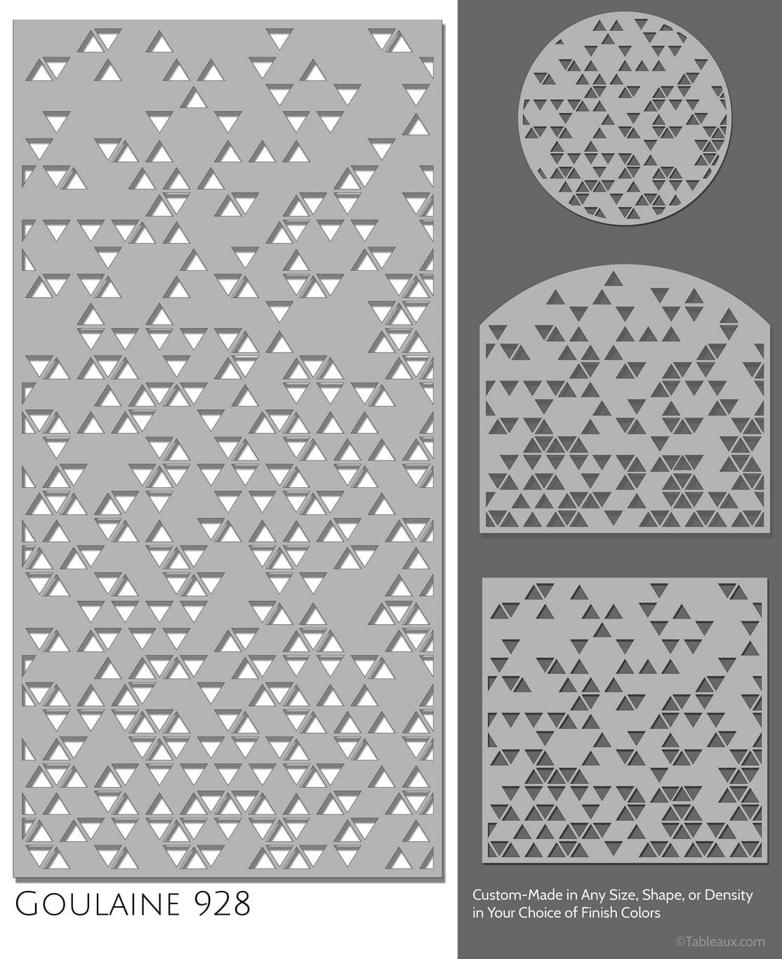 """Tableaux Decorative Grilles Design Pattern """"Goulaine"""""""