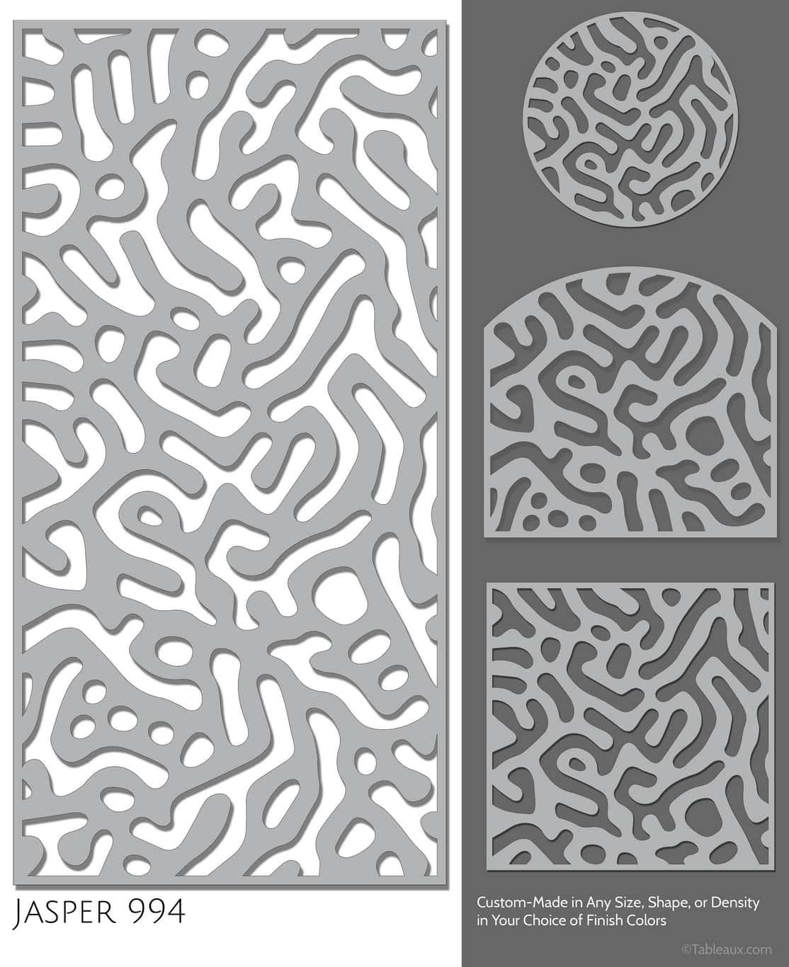 """Tableaux Decorative Grilles Design Pattern """"Jasper"""""""